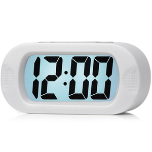 HOT SALE Large Digital Lcd Travel Alarm Clock With Snooze Good Night Light, Ascending Sound Alarm & Handheld Sized, Best Gift