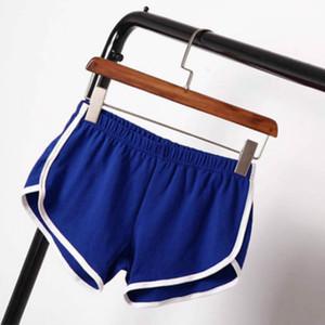 Die Frauen Aktiv Yoga Shorts beiläufige Eignung Sweatpant Sommer Abnehmen Latzhosen Leggings Trendy Shorts Hosen Aktive Frauen neue Kleider-Low taillierte