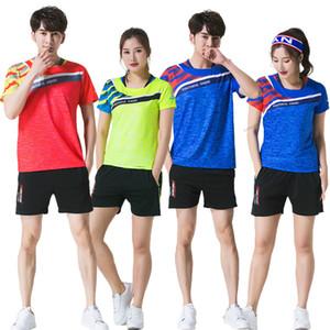 Adsmoney Tenis setleri Erkekler / Kadınlar, Badminton setleri, spor Badminton üniforma, gömlek + şort