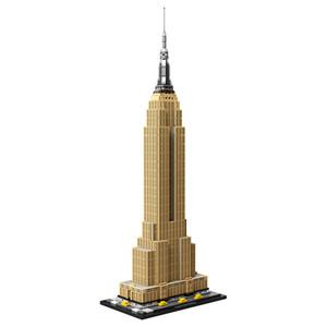 Mimari Serisi Empire State Binası 21046 Küçük Parçacık Yapı Taşları