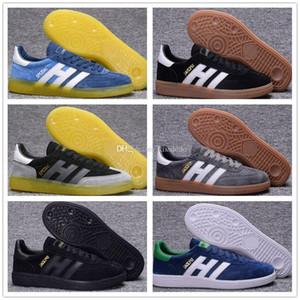 Лучшего мужского качество замши гандбол Spezial Spzl обувь Газель ботинки белый Человек Черные ULTRA BOOST Оригинал OG Классические ботинки 40-44