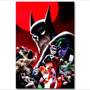 Escadrons de la mort DC Joker Harley Quinn -1, Impression sur toile HD