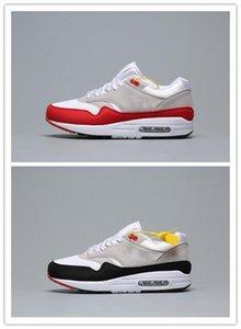 En Yeni 1 87 DLX Hava ATMOS Günlük Ayakkabılar Hayvan P Paketi 1s 87s Leopar gra Erkekler Max Kadınlar Klasik Atletik Zapatos Eğitmenler 36-45 c13