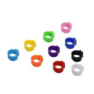 1000 PC Tauben Ringe 8mm / 10mm Bajonett Bezeichnung Ringöffnung Pigeon Ring Farbe Pigeon Fuß Ring Pigeon Ausbildung Supplies