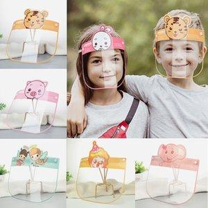 Seguridad niños careta de protección careta Claro Máscara para el Aislamiento niños de la cara llena evitar salpicaduras de seguridad transparentes HHA1429