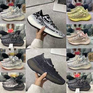 2020 Kanye West Shoes Desingeryezzyyezzysyezzys 380 V3 380s Sneakers Alien Wave MIST Clay Zebra Men women running shoes