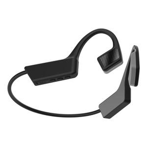 K08 nouvelle conduction osseuse casque Bluetooth 5.0 sports non-auriculaires à oreilles suspendu sans fil gratuit dhl imperméable à l'eau