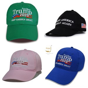 30AhY Trump Chapeaux Casquettes Chapeaux, Foulards Gants de baseball Keep America Great 2020 Cap 2020 républicain Baseball Hat Caps Trump brodé Pres