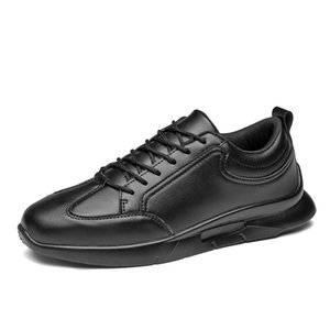 Spring Men Shoes Autumn White Sneakers Men Flats Lightweight Leather Male Running Sports Casual Shoes Man Chaussure Homme