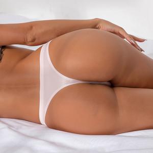 LOOZYKIT femmes sexy sans couture culottes taille plus faible taille Thongs Sous-vêtements Tanga Crémeux T Chaîne Yoga Shorts Trangle culottes
