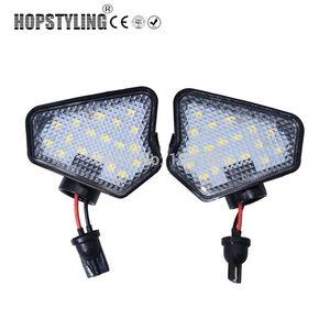 2pcs aucune erreur conduit de lumière miroir flaque W204 W212 W176 W246 W219 W221 A C E S CLS GLK Car LED sous des lampes de miroir