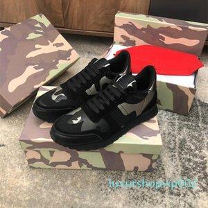 с коробкой 2020 Mens Женщины Лучшие качества кроссовки Camoufalge Повседневная обувь с Star де Chaussures Zapatos Schuhe тренеры