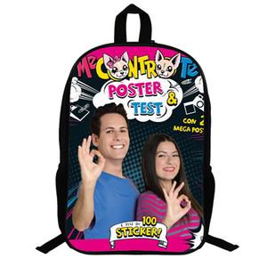 Me Contro Те Монстра мешок школы Ash Ketchum / рюкзак школьные сумки для девочек мальчиков мальчик мешок детей книги мешки 14,5 дюйма