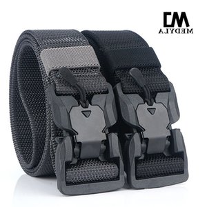 Medyla Tactical Belt Sports High Quality Nylon Men's Training Belt Multifunctional Buckle Outdoor Sports Hook Multiple Colour