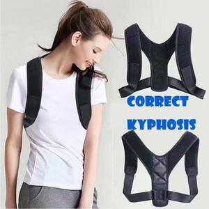 Novo Homens Mulheres Corpo Wellness Voltar Postura correção ombro Corrector Suporte Brace Terapia cinturão de volta ombros retos Suspensórios