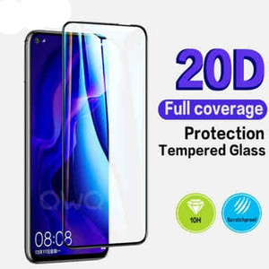 20D completa curvo vidrio templado para el iPhone Mini 12 11 Pantalla Pro Max X Xr X Protector Para iPhone SE 2020 7 8 Plus 6s 6 Protección de cristal Película