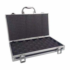 30x17x8cm Alüminyum Araç Kutusu Taşınabilir Bavul Güvenliği darbeye ekipman Enstrüman durumda Depolama Araç Kutusu ile pre-cut pamuk
