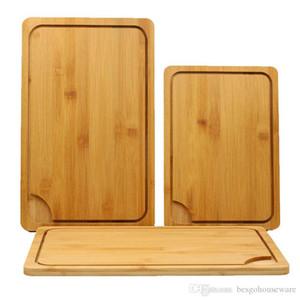 Kurul Fonksiyonlu Bambu Kesme Blokları Cut Ekmek Tatlı Steak Doğrama Plaka BH1296 TQQ Kesme Japon Mutfak Antibakteriyel