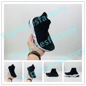 Balenciaga Kid Sock shoes Luxury Brand Chaussures Sneakers Comme tout-petits à taille jeunes chaussures garçons Top qualité enfants chaussures 24-36