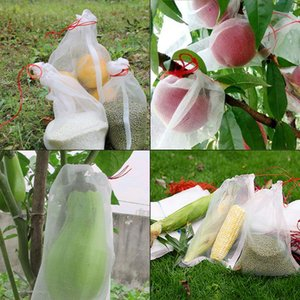 50pcs Grape Protection Bags For Fruit Vegetable Grapes Mesh Bag Against Insect Pouch Waterproof Pest Control Anti-Bird Garden