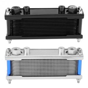 Universal Upgrade Aluminium Motorrad Motor Ölkühler Kühlung Kühler 50cc-200CC Auto Zubehör