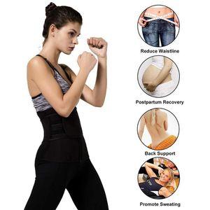 Bel Eğitmen Kuşak Kadınlar Ağırlık Vücut Şekillendirici Sauna Zayıflama Kayış Karın Kontrol Fat Spor Bant Kuşak Korse Yanık Lose Sweat