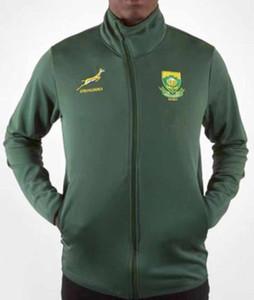 2019 جنوب أفريقيا الرئيسية جيرسي JACKET هوديس جنوب أفريقيا منتخب الرجبي قمصان Hoodie دثار SOUTH AFRICA MEN'S حجم سترة S - 3XL