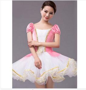 Новый Классический Балетная Пачка Профессиональный Балетная Пачка Платье Костюм Взрослых Детей Девочек Танец Белый Розовый Блин