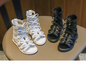 Mädchen Sandalen 2019 Sommer neue Kindermode Prinzessin Schuhe weichen Boden römischen Schuhe Kinder Sandalen Strand Schuhe rutschfest