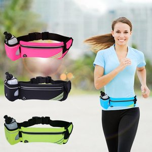 Waist Bags Phone Pouch Travel Waterproof Storage Bag Electronics Charger Case Data Cable Bag Belt Holographic Waist Packs d3