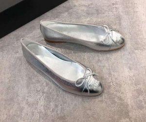 Couro Genuíno das mulheres de Qualidade Superior Sapatos de Ballet Drop Shipping Clássico Designer de Marcas de Bailarina Plana Senhoras casuais flats 34-41 xne12929