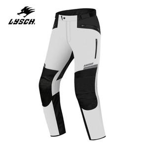 LYSCHY Pantaloni Moto impermeabile Uomini Motocicletta Equitazione CHAQUETA Inverno Moto Pantaloni protettivo Moto Gear armatura