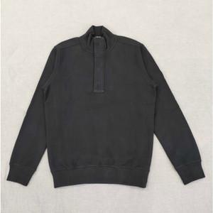 19SS 60120 Half Zip Sweetshirt высокого качества Терри хлопка пуловер свитер для мужчин и женщин Новый свитер HFWPWY292
