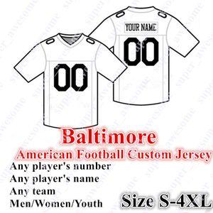4XL CUSTOM Baltimores Football Jersey 8 Jackson 21 Ingram II 29 44 III Thomas Humphrey 99 Judon 35 Edwards 48 Onwuasor 9 Tucker 75 Ogden