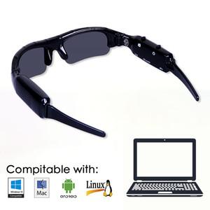 Outdoor Sport Cam registratore occhiali da sole della fotocamera digitale HD Eyewear DVR video per il Ciclismo Guida Sci