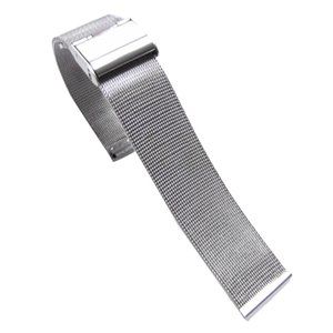 WatchBands 18mm 22mm 24mm Black 2016 New Arrival Fashion Milanese Stainless Steel Wrist Watch Band Strap