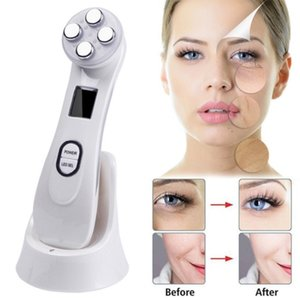 Portable Galvanic RF Facial Machine Skin Care Wrinkle Removal Face Lifting Beauty Equipment Rechargeable Mini Facial Massager