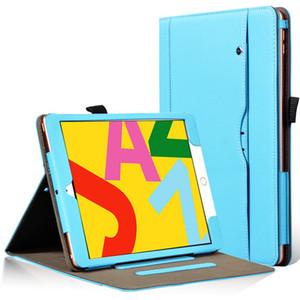 Negócios flip book caso capa para iPad 10.2 2019 para iPad Pro 10.5 2017 para iPad Air 3 10.5 2019 Tablet com alça de mão