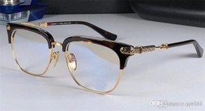 nuovo logo degli occhiali chrom-H occhiali VERTI prescrizione uomini occhio telaio brand designer occhiali da vista cornice d'epoca in stile steampunk