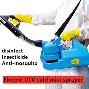 110V 220V 6.8L Electric ULV Cold Fogger Insecticide Atomizer Ultra Low Capacity Disinfection Sprayer Mosquito Killer ULV Cold Fogger Machine
