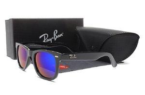 2020 AviatorraggioBan Occhiali da sole Pilot Vintage Banda protezione UV400 delle donne degli uomini Uomini Donne Ben Wayfarer Occhiali da sole con la scatola 2140