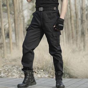 MOMO abril 2019 pantalones de los hombres táctico militar de carga Ejército Hombres pantalón táctico de alta calidad Negro de Trabajo de los hombres de las bragas Ropa PantMX190904
