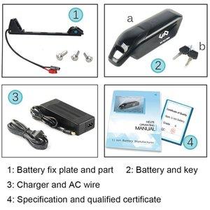 48V 12AH Dolphin Battery use Samsung / NCR 18650 Cell E-Bike Battery 48V 11.6Ah Li-ion Battery + 54.6V 2A Charger