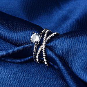20200415 anel zircão duplo anel de acoplamento fio torcido