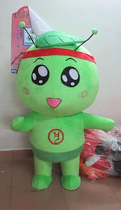 TRAJE DE MASCOTA DE POLE STAR Disfraces de mascota de muñeca verde para la fiesta de Halloween