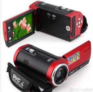 Frete Grátis C6 Câmera 720P HD 16MP 16x Zoom 2.7 '' TFT LCD Vídeo Digital Camcorder Camera DV DVR Preto Vermelho Hot Worldwide