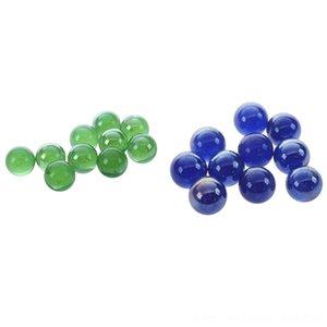 20 Marmi 16Mm Vetro Marmi Knicker Sfere di vetro decorazioni di colore Nuggets giocattolo 10 pezzi verde 10 pezzi scuro Altri giocattoli blu