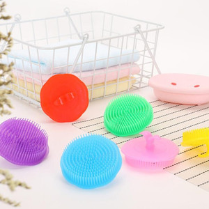 Confortable Massager Scalp Peigne douche corps Brosses en plastique Shampooing lavage cheveux Brosse de massage pour salle de bain LX1296
