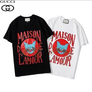 2020 brand luxury tops designer t shirts for mens women s tshirt women t shirt men clothes Short sleeve clothing white gym sweat#039