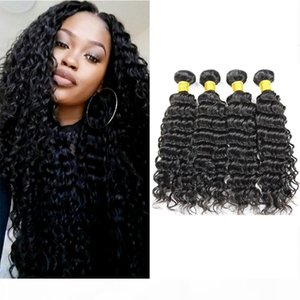 New Arrival Unprocessed Hair Bundles Peruvian Deep Wave for Black Women Brazilian Indian Cambodian Mongolian Malaysian Remy Human Hair Weave
